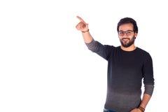 Jeune homme de sourire Image libre de droits