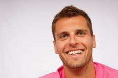 Jeune homme de sourire gai Photographie stock