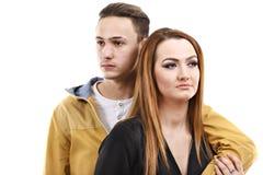 Jeune homme et femme ensemble Photos libres de droits