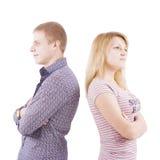 Jeune homme et le femme Photographie stock libre de droits