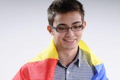 Jeune homme gai Images libres de droits