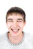 Jeune homme gai Photos libres de droits
