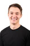 Jeune homme gai Photo stock