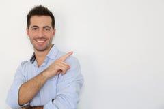 Jeune homme gai Photographie stock libre de droits