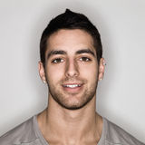 Jeune homme Headshot Images libres de droits