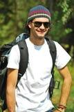 Jeune homme heureux Photographie stock