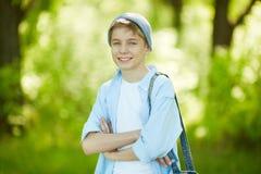 Jeune homme heureux Photos libres de droits