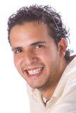 Jeune homme latin Image libre de droits