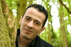 Jeune homme méditerranéen Image stock