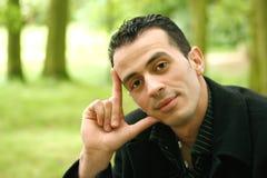 Jeune homme méditerranéen Images stock