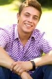 Jeune homme occasionnel Images libres de droits