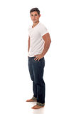 Jeune homme occasionnel Photographie stock