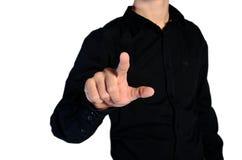 Jeune homme occasionnel Photo libre de droits