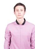 Jeune homme occasionnel de verticale Photo libre de droits
