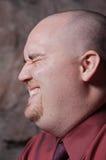 Jeune homme riant image libre de droits