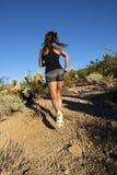 Jeune instructeur féminin Trainer de forme physique Photographie stock libre de droits