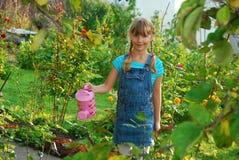 Jeune jardinier Photographie stock