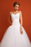 Jeune jeune mariée Photo stock