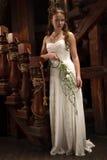 Jeune jeune mariée Photographie stock libre de droits
