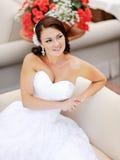Jeune jeune mariée Images libres de droits