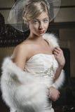 Jeune jeune mariée sûre II Image stock