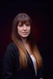 Jeune jolie verticale de femme Photos libres de droits