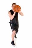 Jeune joueur de basket mâle photo libre de droits