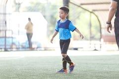 Jeune joueur de football asiatique images libres de droits