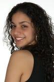 Jeune Latina de sourire Headshot photographie stock libre de droits
