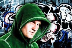 Jeune mâle à capuchon Photo libre de droits