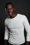 Jeune mâle d'Afro-américain photo libre de droits