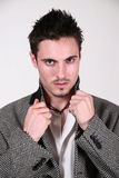 Jeune mâle de la GQ - Jon Photos stock