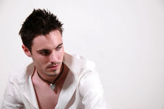 Jeune mâle - Jon Photographie stock