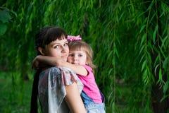 Jeune mère avec l'enfant Images stock