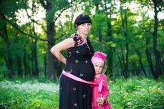 Jeune mère avec l'enfant Photographie stock