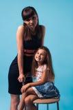 Jeune mère avec la fille Image stock