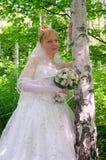Jeune mariée 3 Photographie stock libre de droits