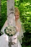 Jeune mariée 5 Images libres de droits