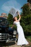 Jeune mariée Images libres de droits