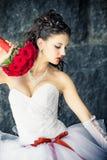 Jeune mariée Image libre de droits