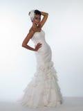 Jeune mariée afro-américaine Image libre de droits