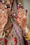 Jeune mariée arabe Photos libres de droits