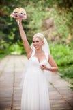 Jeune mariée aux Etats-Unis Images libres de droits