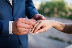 Jeune mariée avec des amis Photo stock