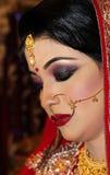 Jeune mariée bangladaise Photographie stock libre de droits