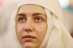Jeune mariée biélorusse ethnique images stock