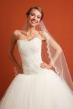 Jeune mariée classique Image libre de droits
