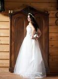Jeune mariée de campagne Photographie stock