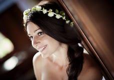 Jeune mariée de campagne Images stock