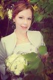 Jeune mariée de femme Photographie stock libre de droits